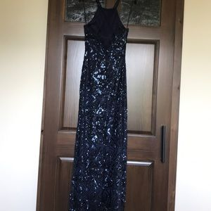 Night Way Collections Dresses - Navy Blue evening gown